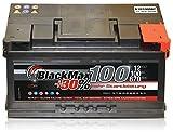 PKW Starter Auto Batterie 12 V 100Ah 870A/EN BlackMax100