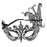 Mml Halloween Masque, Masque de mascarade en métal Catwoman Halloween Découpe Prom Party Masque Accessoires
