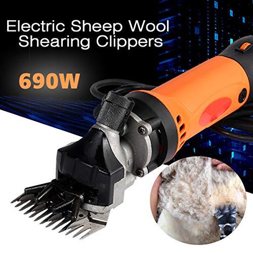SISHUINIANHA 690 Watt 220 V Elektrische Schafschermaschinen Flexible Welle Clipper Schaf Ziegen Schere Einstellung Drücker Cutter Scissor