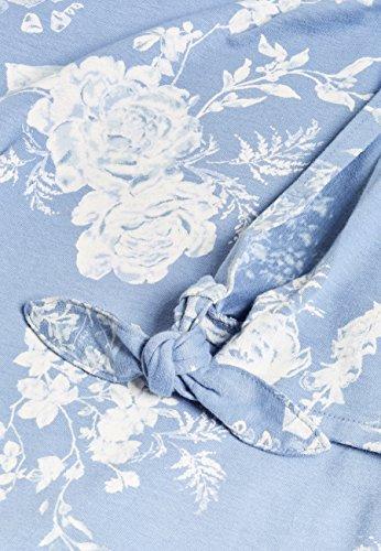 next Donna Pigiama A Maniche Corte In Cotone Jersey - Tall Blu Floreale