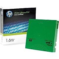 HP Original LTO4 Ultrium 1.6TB RW Data Cartridge, Green