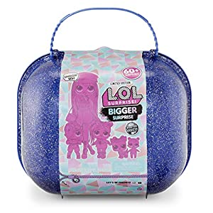 L.O.L. Surprise! - Winter Disco Bigger Surprise, maletín con muñecas coleccionables y más de 60 sorpresas (Giochi Preziosi, 421627)