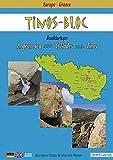 Tinos Bloc: Bouldertopo. Aegean sea. Cyclades Tinos