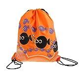#10: Phenovo Drawstring Swimming Bag Beach Bag Sports Gym Backpack Orange