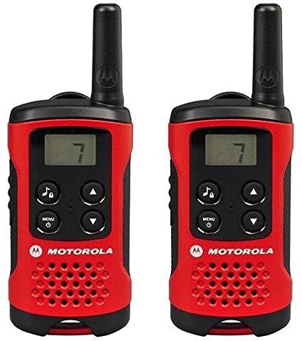 Motorola Paire de talkies walkies Motorola T40 portée en champs