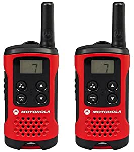 Motorola Paire de talkies walkies Motorola T40 portée en champs libre 4km Rouge