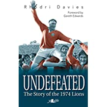 Undefeated: The Story of the 1974 Lions (English Edition)