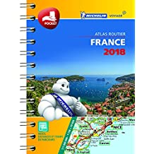France Mini Atlas: 2018 (Michelin Tourist and Motoring Atlases)