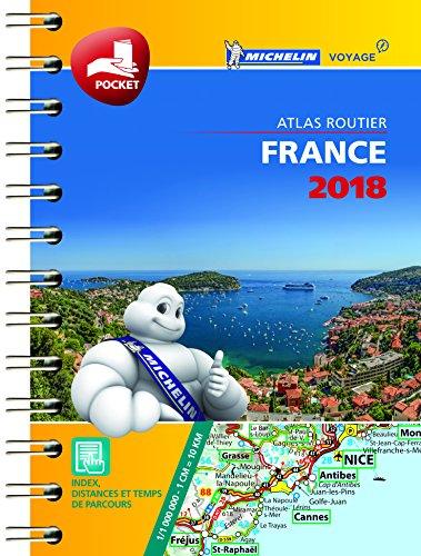 Descargar Libro Mini Atlas France Michelin 2018 de Michelin
