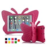 Best I Pad 3 Cases For Kids - iPad case for Kids, Feitenn 3D Cartoon Butterfly Review