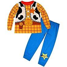 f5cbd5ec8ff50 Disney Toy Story lueur dans l obscurité Nouveauté garçons Long Length  Pyjama 1.5-2