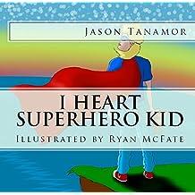 I Heart Superhero Kid