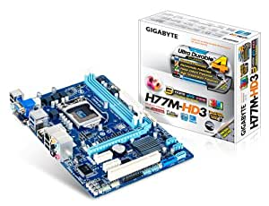 Gigabyte GA-H77M-HD3 Intel H77 Socket H2(1155) 1 x Ethernet 1 x HDMI 6 x USB 2.0 2 x USB 3.0