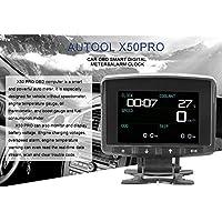 X50 PRO- Medidor digital inteligente OBD multifunción para coche y código de error de alarma