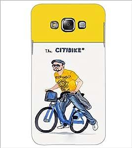 Printdhaba Cartoon D-2651 Back Case Cover For Samsung Galaxy E7