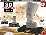 Educa Borrás - 16966.0 - 3D Sculpture Puzzle - Néfertiti - 190 pièces