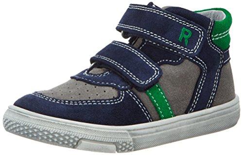 Richter Kinderschuhe Mose, Sneakers basses garçon Blau (atlantic/rock/grass)