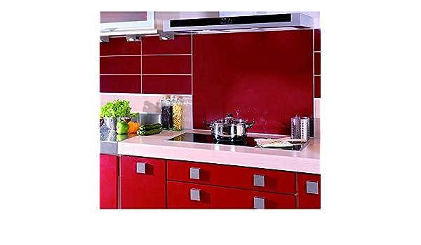 Hintergrund für dunstabzugshaube 90 cm x 70 cm rot: amazon.de