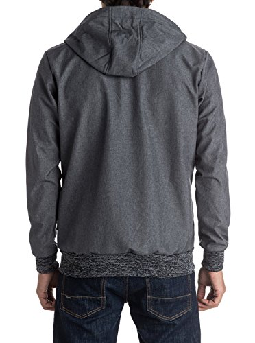 Quiksilver Herren Jacke the Manik Grau (dark Grey Heather Ktfh)