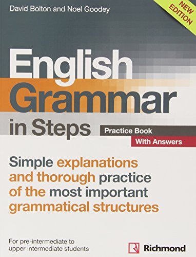 NEW ENGLISH GRAMMAR IN STEPS PRACTICE BOOK WITH ANSWERS - 9788466817523