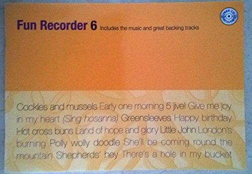 Partitions classique Kevin Mayhew FUN RECORDER 6 + CD Flûte à bec