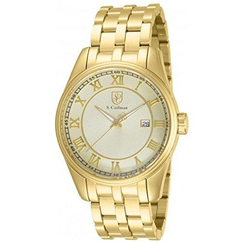S. Coifman Man Quartz Watch SC010145mm
