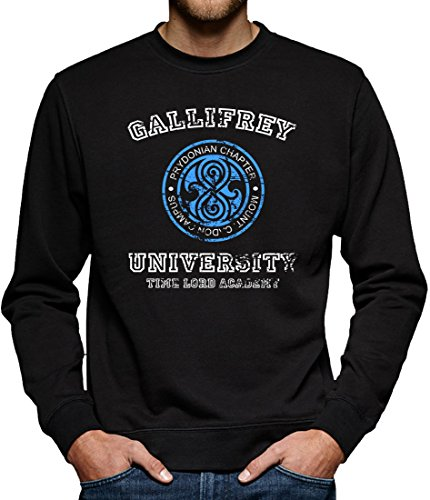 TLM Gallifrey University Sweatshirt Pullover Herren L (University Billig Halloween Kostüme)