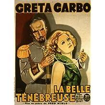 La misteriosa dama Póster de película Belgian 11x 17en–28cm x 44cm Greta Garbo Conrad Nagel Gustav von Seyffertitz Richard Alexander Albert Edward Connelly Pollet