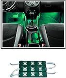 #7: Guance 9 LED Custom Cuttable Bike/ Car Green Light for Interior/ Exterior For Mahindra TUV300