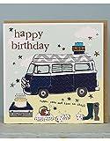 Molly Mae Geburtstagskarte, Motiv: Wohnmobil, FB85