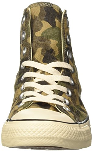 Converse Ctas Hi Fatigue, Sneaker a Collo Alto Uomo Verde (Fatigue Green/Natural/Egret)