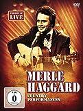 Merle Haggard - Country Performances