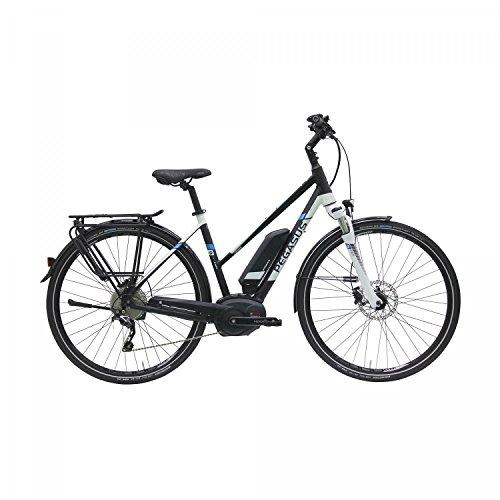 Pegasus Premio E10 500Wh Damen E-Bike Pedelec 2016, Farbe:Schwarz;Rahmenhöhe:50 cm