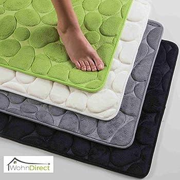 badteppich 50x80 cm limonen gr n badvorleger badematte 100 baumwolle bathmat green. Black Bedroom Furniture Sets. Home Design Ideas