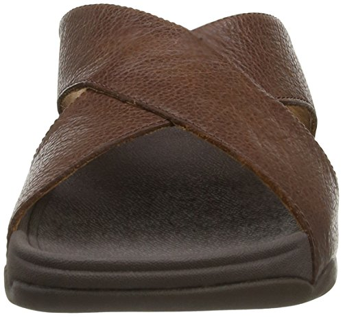 Fitflop , Sandales pour homme Noir Noir Marron - Brown (Chocolate)