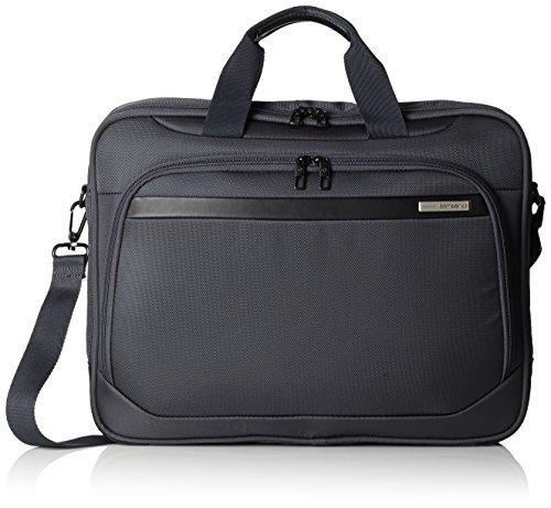 Samsonite Vectura Bailhandle Tasche für Notebook bis 40,6 cm (16 Zoll) sea grau - Samsonite Nylon-schulter-bag