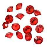 TOAOB 6000 Pieces 3mm Small Red Acrylic Diamond - Best Reviews Guide