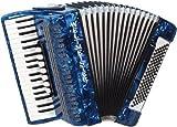 Weltmeister Piano Akkordeon Opal blauperloid
