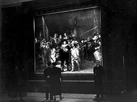 POSTER A3 Nederland De Nachtwacht van Rembrandt in het Rijksmuseum / The Night Watch by Rembrandt in the Rijksmuseum