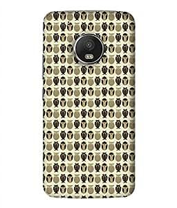 PrintVisa Designer Back Case Cover for Motorola Moto G5 Plus (Kokka Coba)