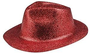 Boland 04409Sombrero Sparkle Rojo