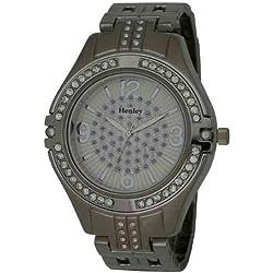 Henley Diamante Crystals Mens Bracelet Watch HB005.1