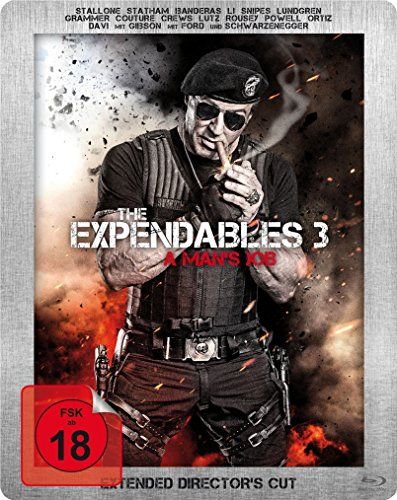 Bild von The Expendables 3 - A Man's Job - Extended Director's Cut - Limited Steelbook - Dolby Atmos [Blu-ray] [Limited Edition]
