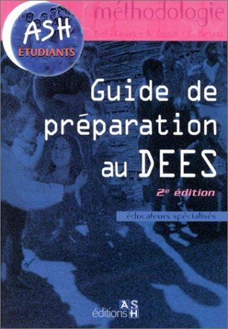 Guide de préparation au DEES (éducation spécialisés)