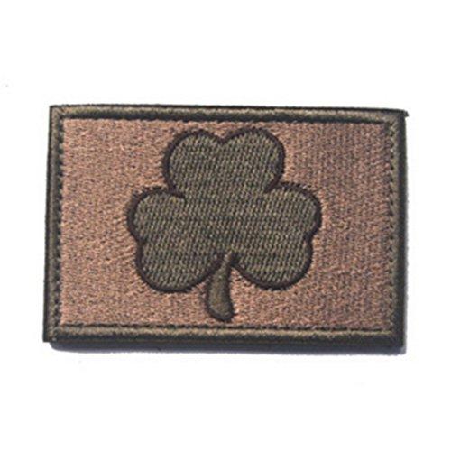 KingNew Irish Shamrock bestickt Patch Eisen auf Sew auf Irland