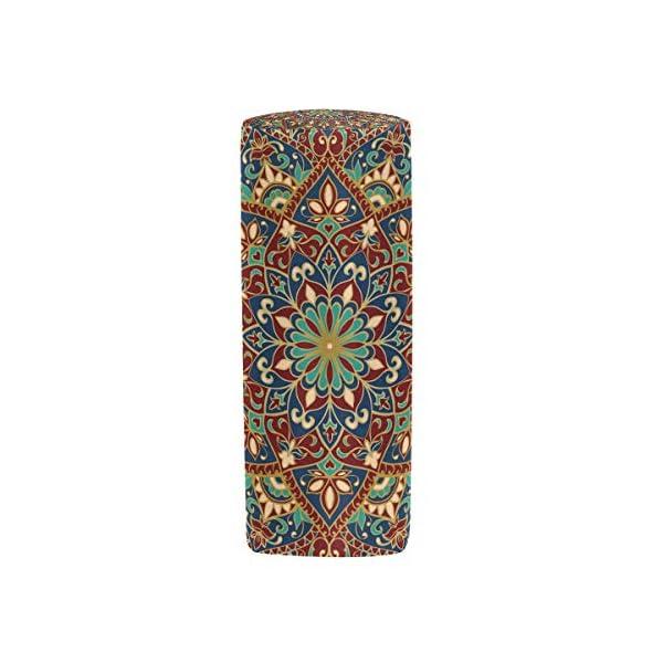 Estuche para lápices Vinlin con diseño de mandala y flores, multifuncional, con cremallera, ideal para la escuela o la…
