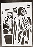 moreno-mata Darth Vader Star Wars Handmade Street Art - Artwork - Poster