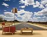 mantiburi FotoTapete Route 66 Tapete 360x380cm/nicht spiegel-/seitenverkehrt