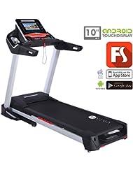 AsVIVA T15 | Laufband Runner Cardio Fitnessgerät Laufband, Schwarz, M
