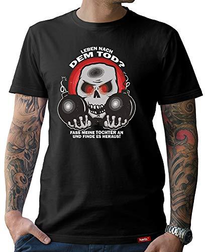 HARIZ  Herren T-Shirt Papa Collection 36 Designs Wählbar Schwarz Vatertag Weihnachten Männer Geschenk Karte Urkunde Papa19 Leben Nach Dem Tod 3XL